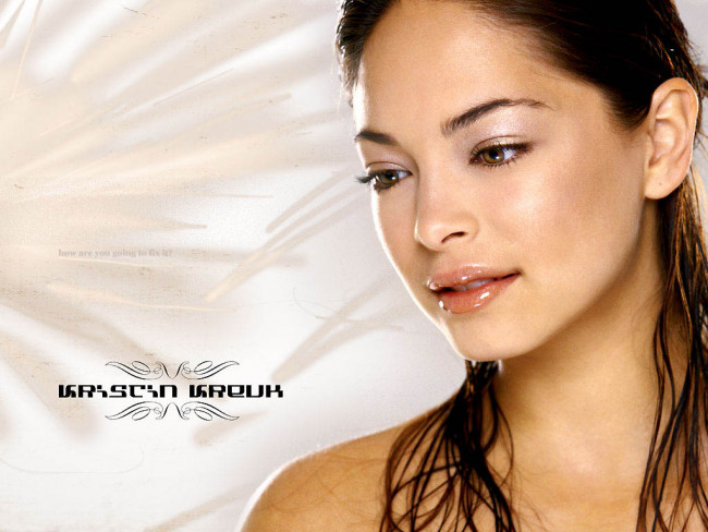 Kristin kreuk and breasts